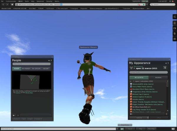 Programmi per Second Life: novità nell'interfaccia di Snowstorm